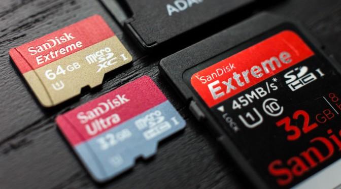 Villámgyors SD kártyák érkeznek 4K és 8K tartalmakhoz